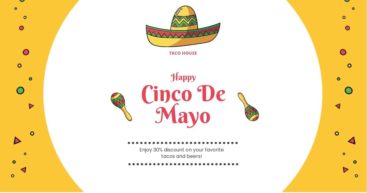 Free Cinco de Mayo Day Facebook Post Template.jpe
