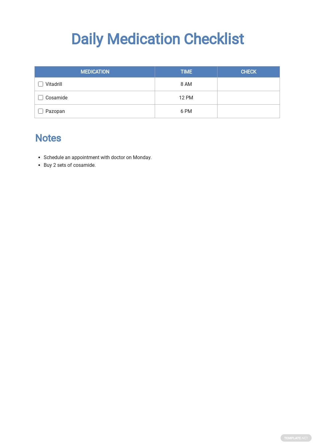 Daily Medication Checklist Template.jpe
