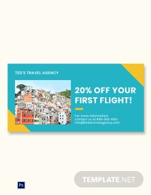 Free Holiday Travel Blog Image Template