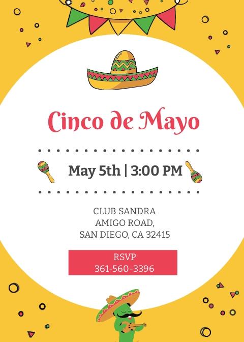 Free Cinco de Mayo Day Invitation Template.jpe