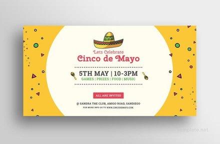 Free Cinco de Mayo Day LinkedIn Blog Post Template