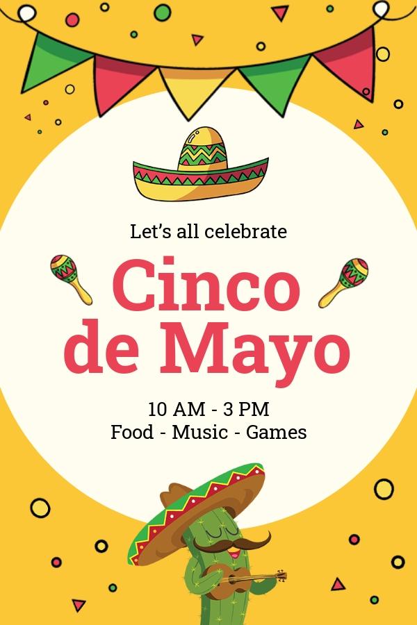 Free Cinco de Mayo Day Pinterest Pin Template.jpe