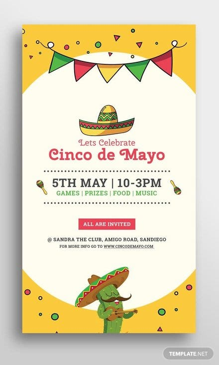 free cinco de mayo snapchat geofilter template - Snapchat Geofilter Template Free
