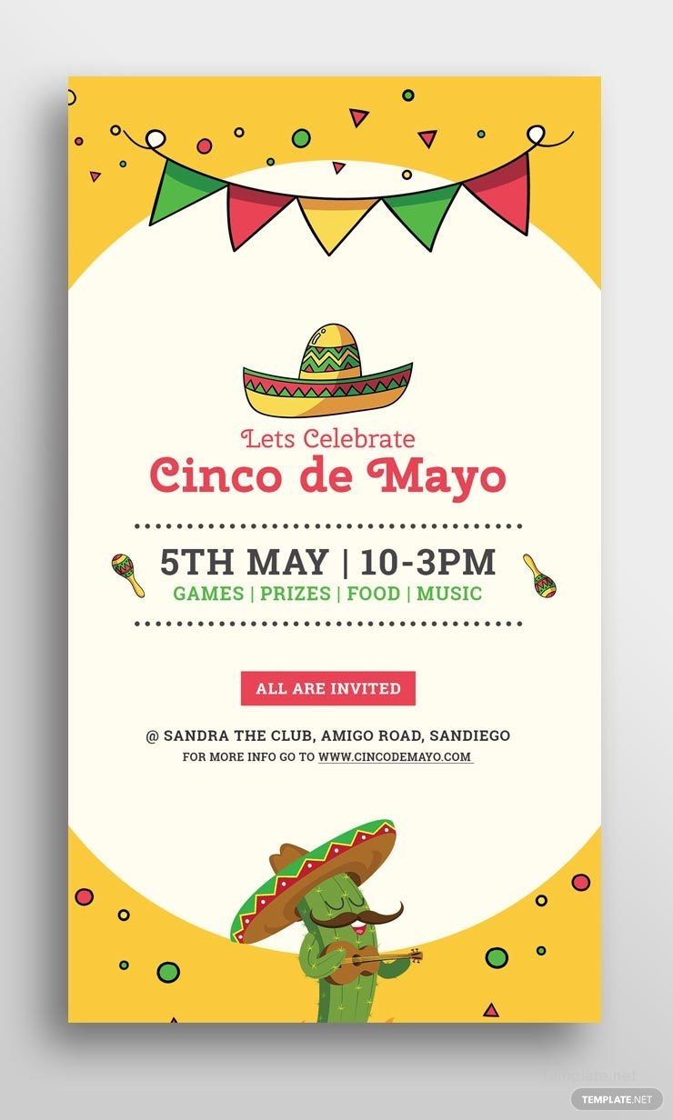 click to see full template free cinco de mayo snapchat geofilter