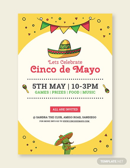 free cinco de mayo day tumblr post template download 536 social