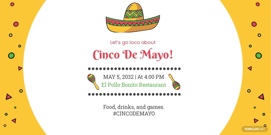 Cinco de Mayo Day Twitter Post Template