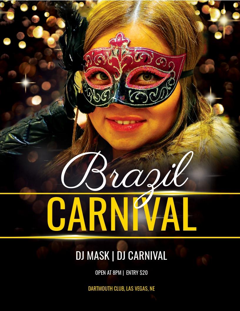 Brazil Carnival Flyer Template.jpe