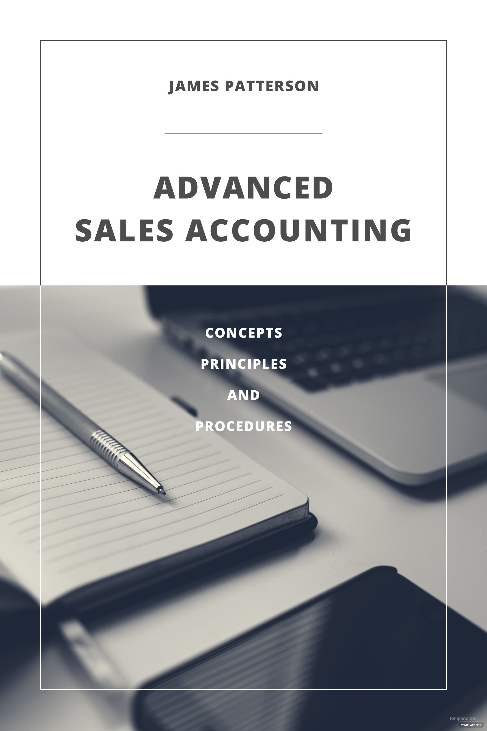 Free Accounting Book Cover Template in Adobe Photoshop, Illustrator ...