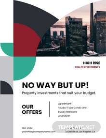 Commercial Real Estate Investor Flyer Template