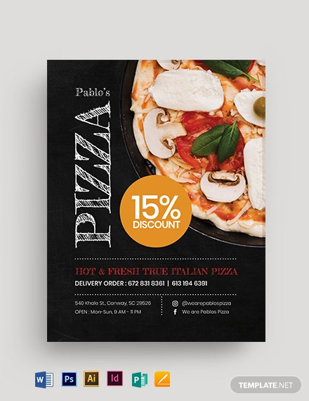 Foodie Flyer Template