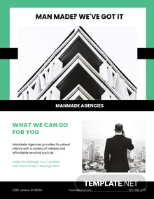 Property Manager Flyer Template