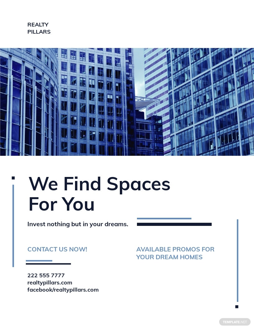 Real Estate Investment Company Flyer Template