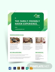 Subdivision Agent/ Agency Flyer Template
