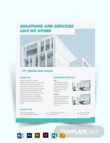 Subdivision Flyer Template