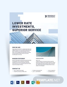 Wholesales Real Estate Investment Flyer Template