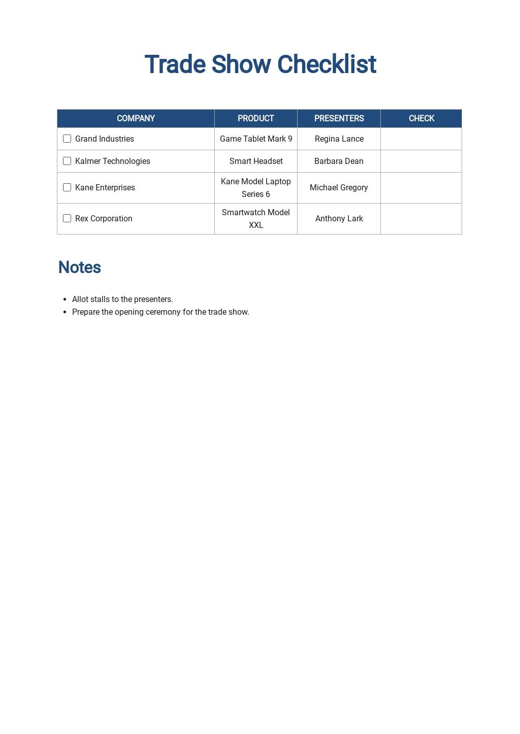 Trade Show Checklist Template.jpe
