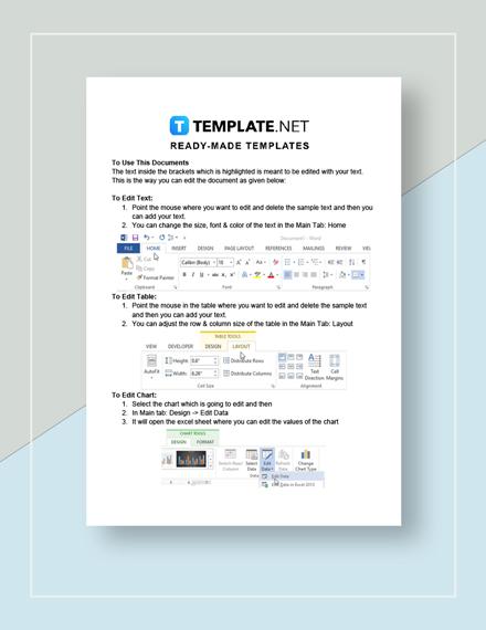 Work Checklist Instructions