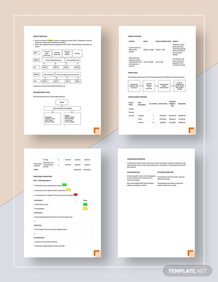 Company Operational Plan Download