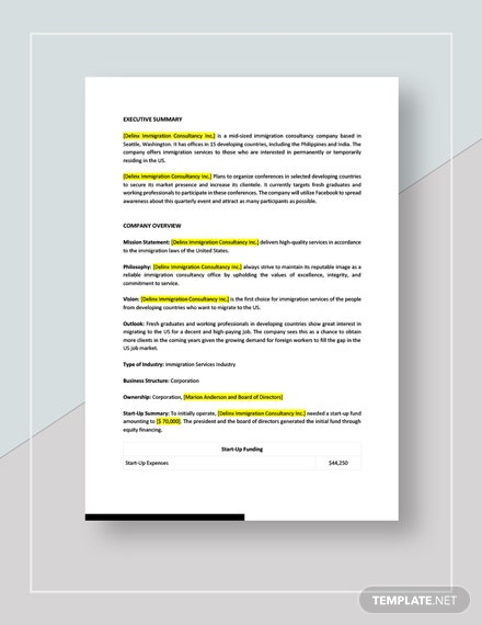Conference Marketing Plan Download