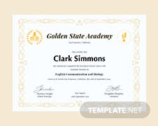 Free civil diploma certificate template in psd ms word publisher free academic diploma certificate template yadclub Images