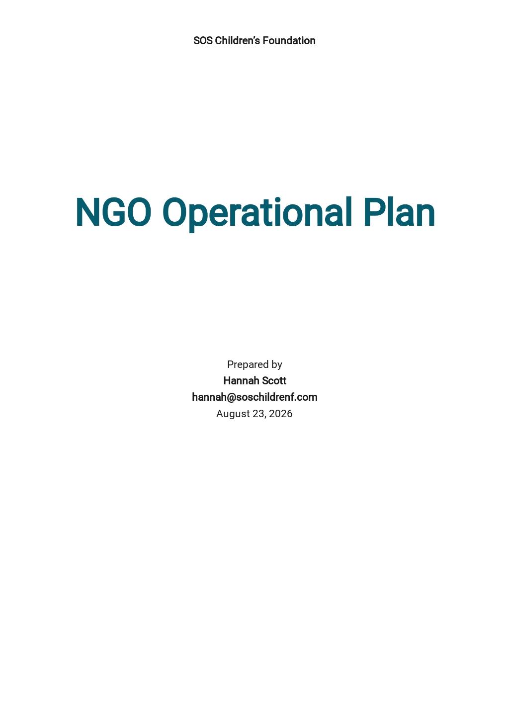 NGO Operational Plan Template.jpe