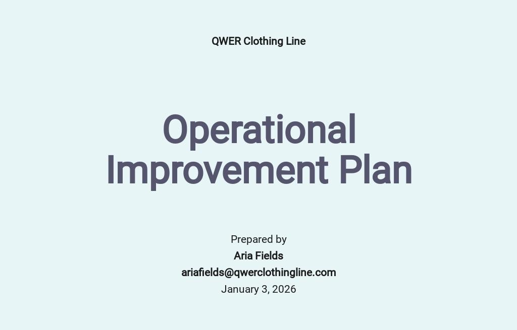 Operational Improvement Plan Template.jpe