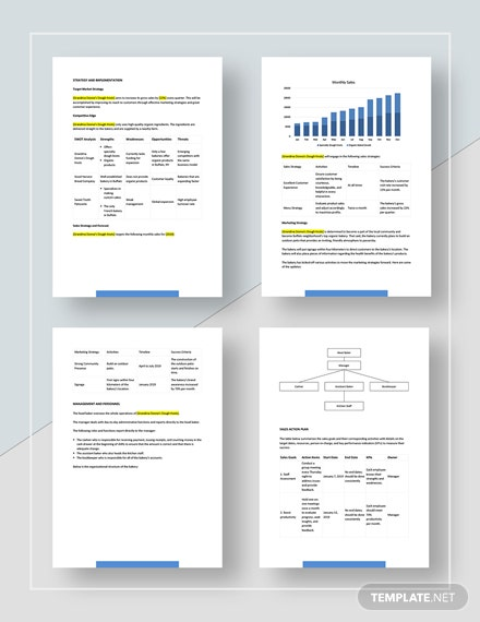Sample Small Business Sales Plan
