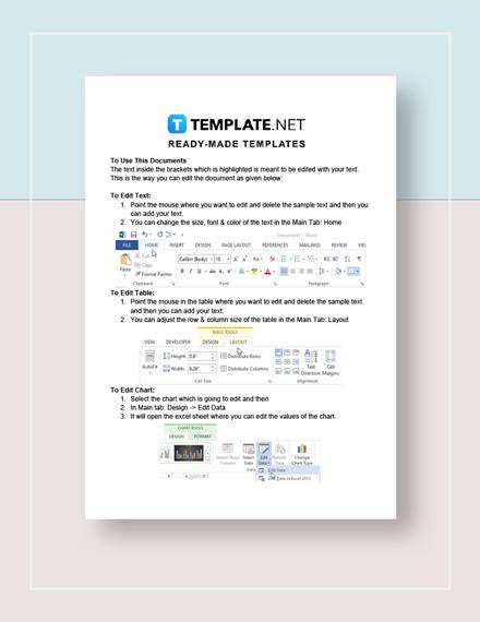 Printable Marketing Strategies Checklist Template Word