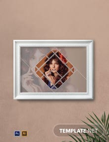 Fashionable Photo Frame Template