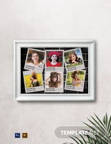 Printable Photo Frame Template