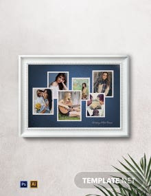 Elegant Photo Frame Template