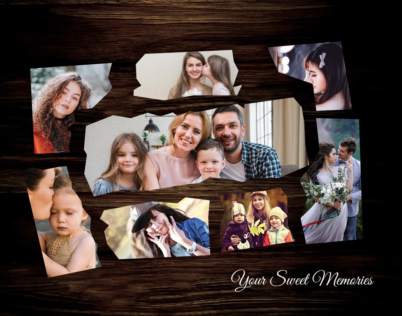 Customize Photo Frame Template