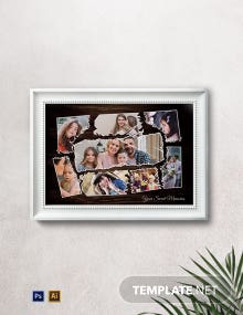 Customize Photo Frame Template