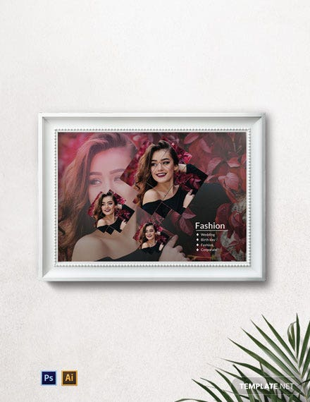 Modern Photo Frame Template