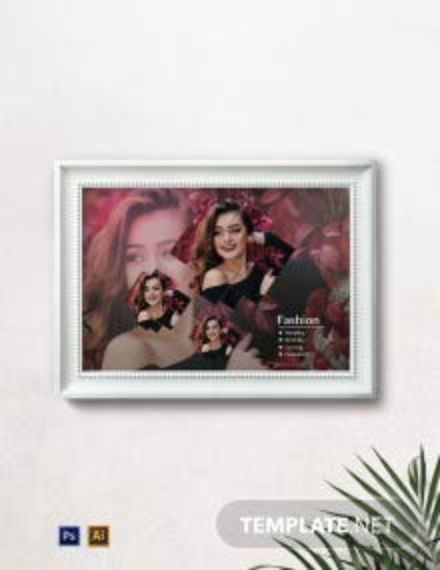 Modern Photo Frame Template