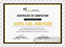 Free company experience certificate template in adobe photoshop free car workshop experience certificate template yadclub Choice Image