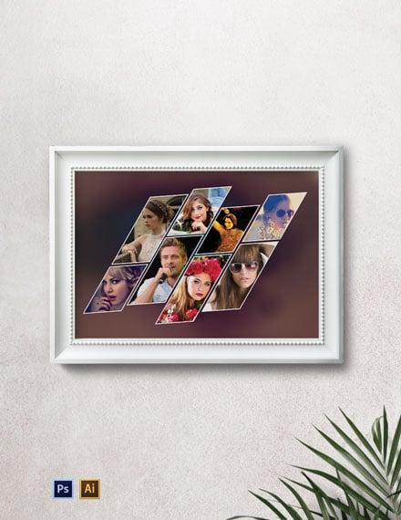 Sample Photo Frame Template