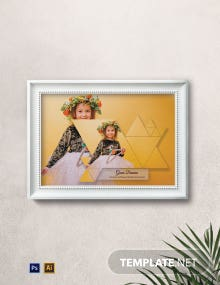 Creative Photo Frame Template