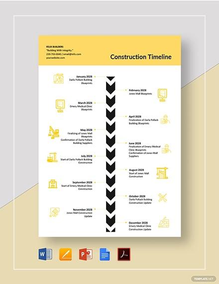 construction timeline 2
