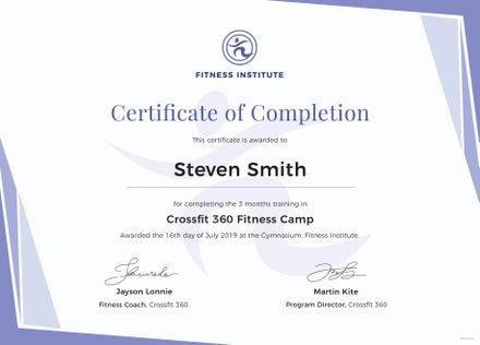 free printable training certificate templates training certificate