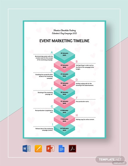 Event Marketing Timeline Template
