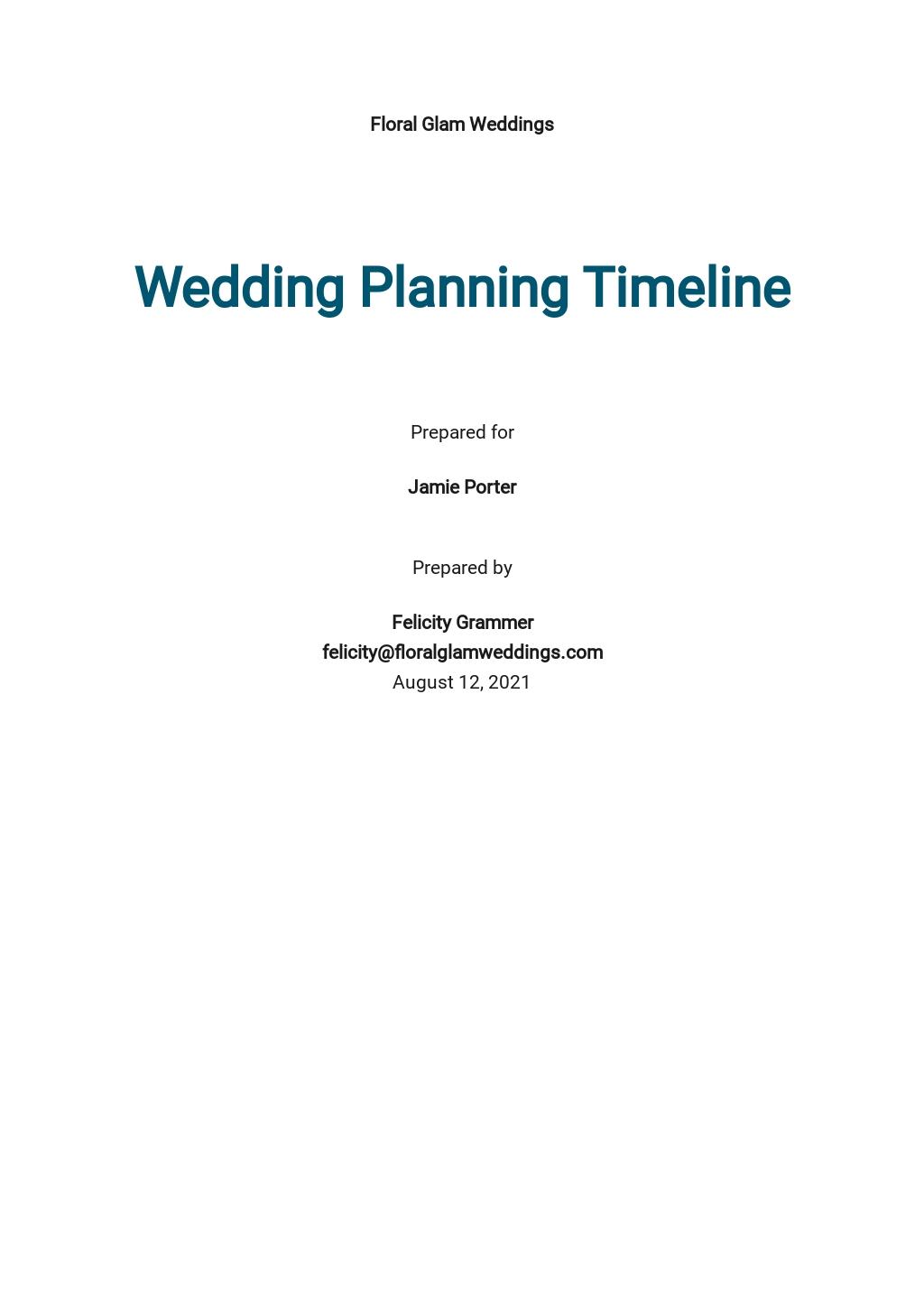 Wedding Planning Timeline Template.jpe