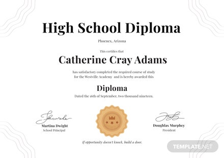 Free high school diploma certificate template download 200 free high school diploma certificate template download 200 certificates in psd illustrator template maxwellsz