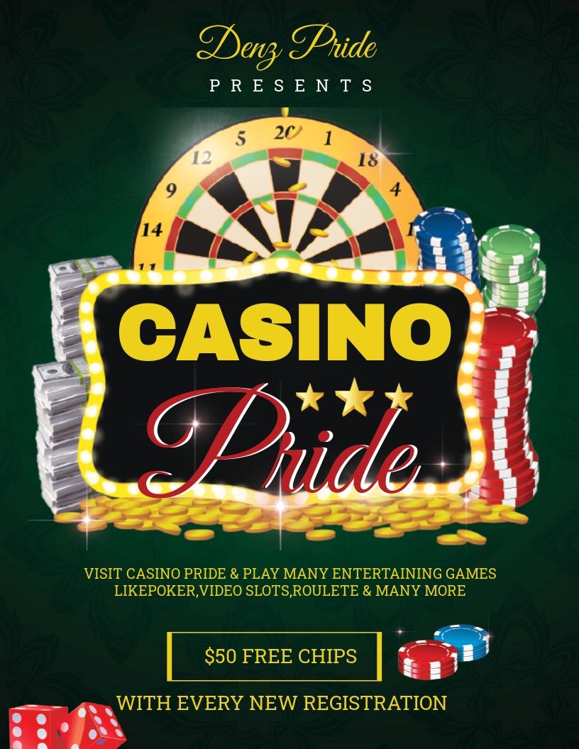 Free Casino Flyer Template