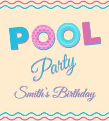 birthday flyer template word