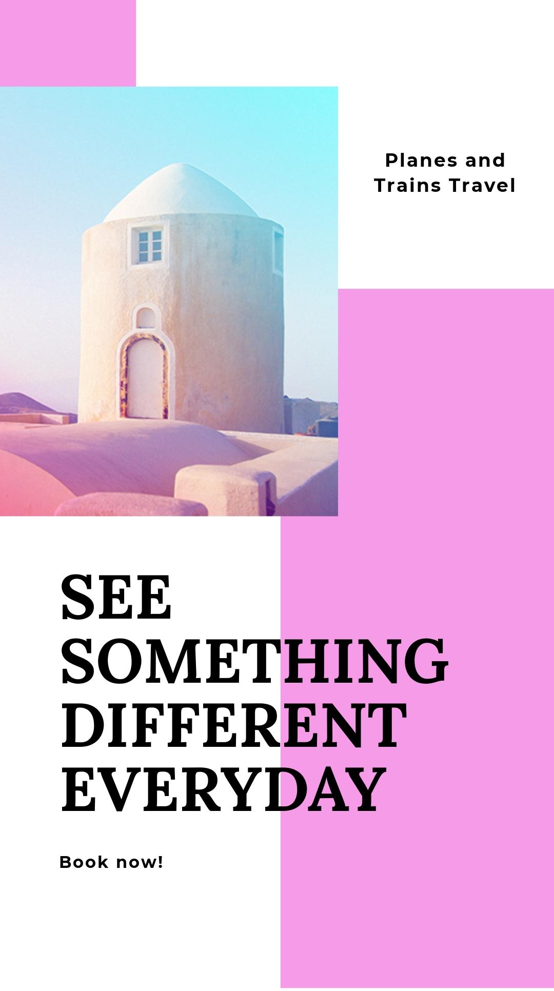 Elegant Travel Instagram Story Template