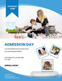 Free Daycare Flyer Template