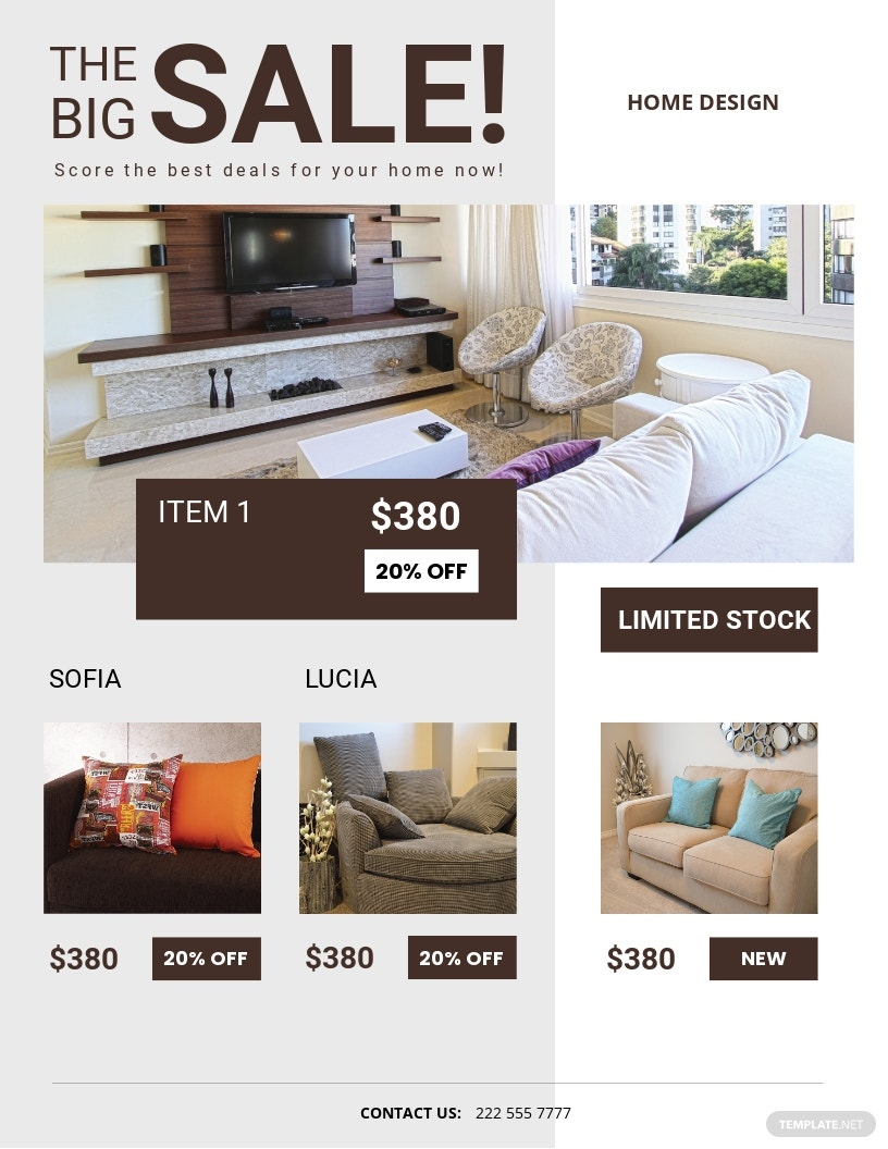 Product Sale Flyer Template.jpe