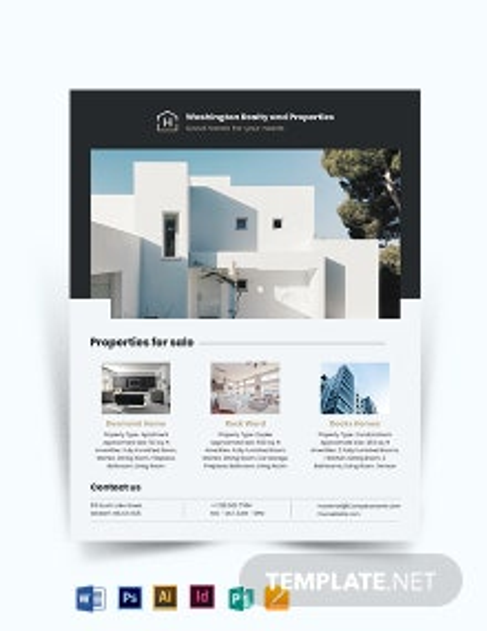 Commercial Realtor Flyer Template