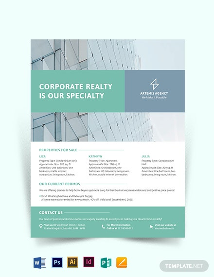 Home Owners Association Flyer Template